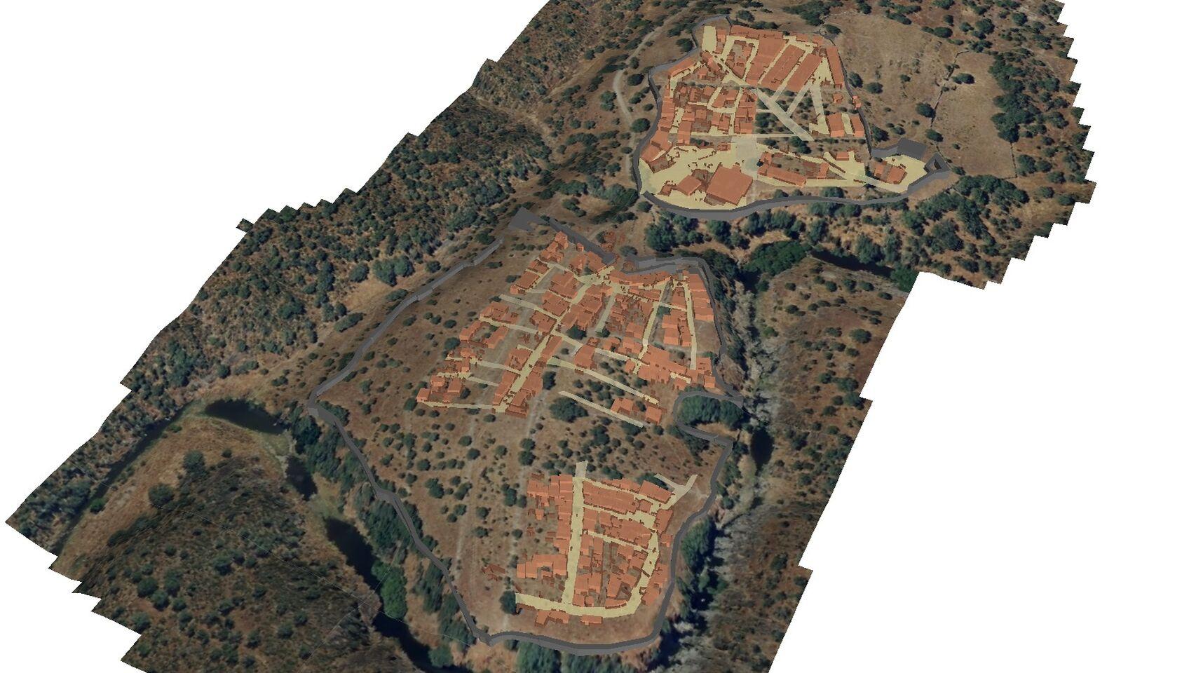 Castro romano en Cáceres