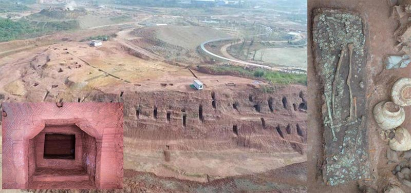 Encuentran más de 6000 tumbas antiguas al suroeste de China